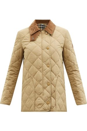 Burberry Cotswold Quilted-shell Jacket - Womens