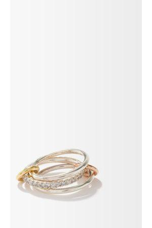 Spinelli Kilcollin Tigris Mx Gris Diamond & Sterling- Ring - Womens - Multi