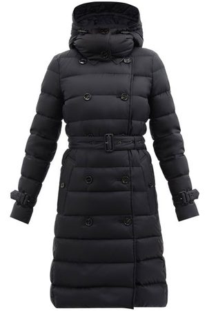 Burberry Ashwick Quilted-shell Down Coat - Womens