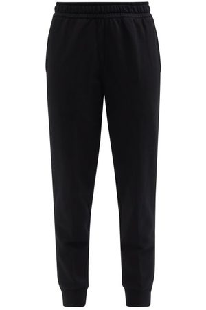 Burberry Stephan Check-panel Jersey Track Pants - Womens