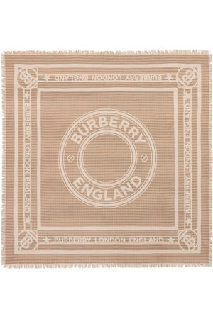 Burberry Scarves - Large logo-graphic scarf