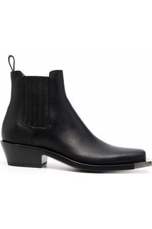 Buttero Women Chelsea Boots - Square toe chelsea boots