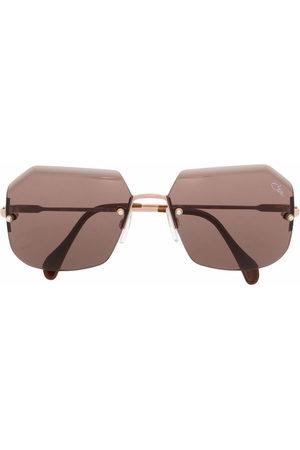 Cazal Sunglasses - Frameless hexagonal sunglasses