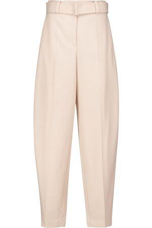 Joseph Taavi high-rise wool twill pants