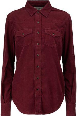 Saint Laurent Corduroy shirt