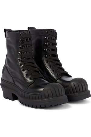 Acne Studios Lace-up leather boots