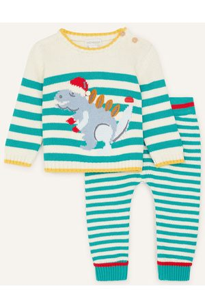 Monsoon Trousers - Newborn Christmas Dino Set , in Size: 6-9 Months