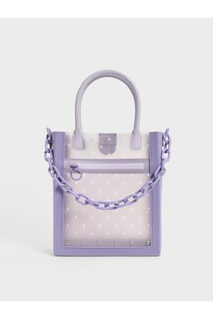 CHARLES & KEITH Chain Link Tote Bag