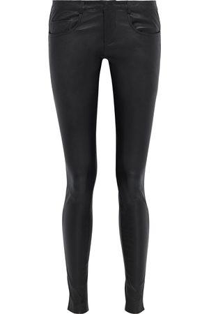 MUUBAA Woman Eden Leather Skinny Pants Size 10