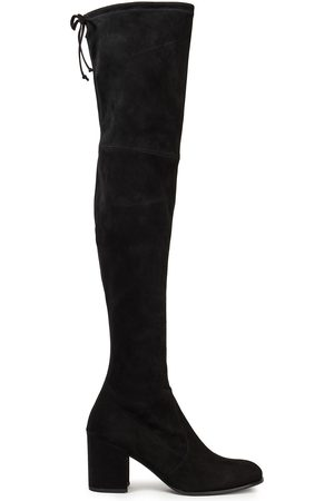 STUART WEITZMAN Woman Suede Over-the-knee Boots Size 35