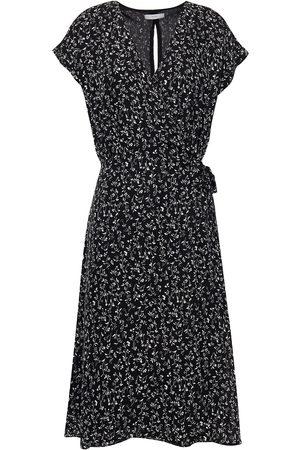 JOIE Woman Bethwyn Printed Silk-cady Wrap Dress Size L