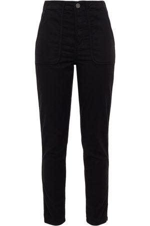 JOIE Woman Andira Cropped Cotton-blend Twill Slim-leg Pants Size 23