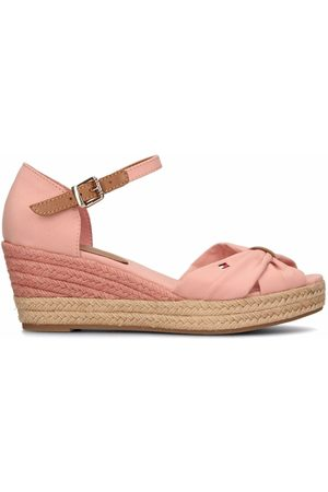 Tommy Hilfiger Women Wedges - Opened-toe mid-wedge espadrilles