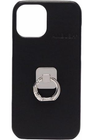 AMBUSH Phones - IPHONE 12 PROMAX CASE B RING BLAC