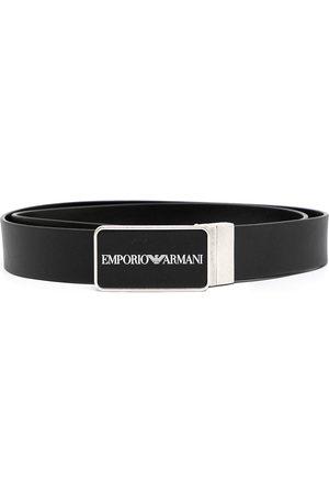 Emporio Armani Men Belts - Logo-buckle belt