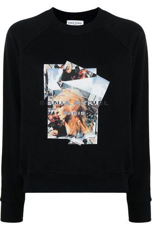 Sonia by Sonia Rykiel Logo-print organic cotton sweatshirt