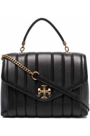 Tory Burch Logo-plaque quilted bag