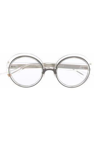 Dita Eyewear Transparent round-frame glasses
