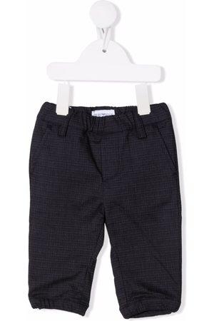 Emporio Armani Kids Check-print tailored trousers