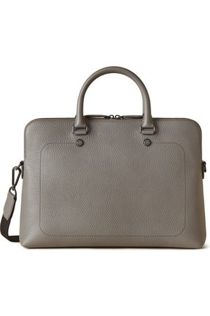 MULBERRY City Slim Briefcase - Charcoal