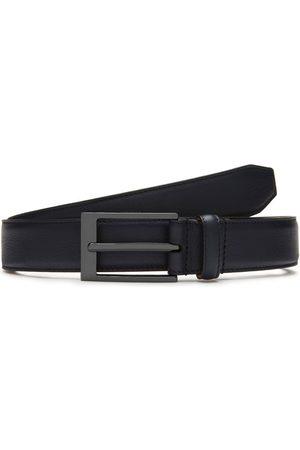 MULBERRY Men's 30 mm Formal Belt - Midnight - Size 34