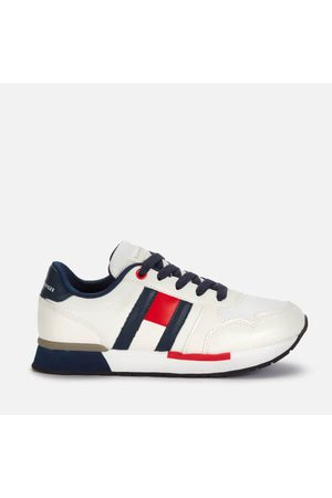 Tommy Hilfiger Boys Trainers - Boys' Low Cut Lace-Up Sneaker /B /