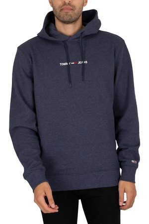 Tommy Hilfiger Straight Logo Pullover Hoodie