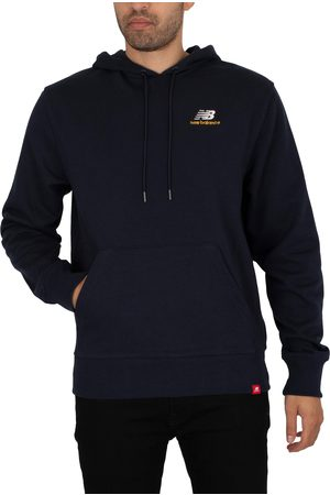 New Balance Essentials Embroidered Pullover Hoodie