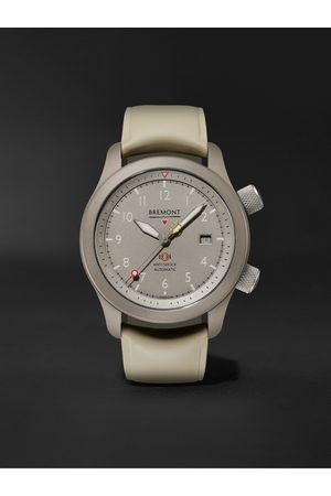 Bremont Men Watches - MB Savanna Automatic Chronometer 43mm Titanium and Rubber Watch