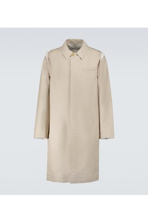 UNDERCOVER Raw-edge Mac coat
