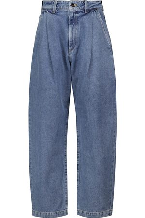 Goldsign The Dali tapered wide-leg jeans