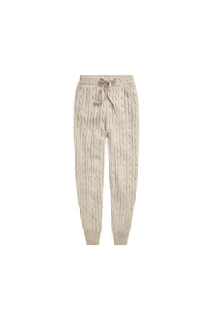 Polo Ralph Lauren Women Formal Trousers - Cable Wool-Cashmere Jogger