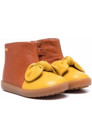 Camper Pursuit bow-detail boots
