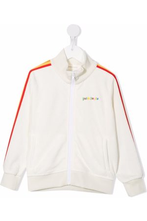 Palm Angels Side-stripe track jacket