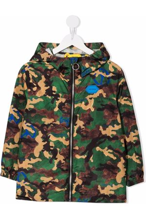 Off-White Kids Camouflage-print Arrows windbreaker