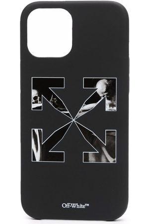 OFF-WHITE Caravaggio arrows-print iPhone 12 Pro Max case