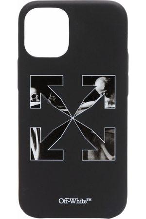 OFF-WHITE Caravaggio arrows-print iPhone 12 mini case