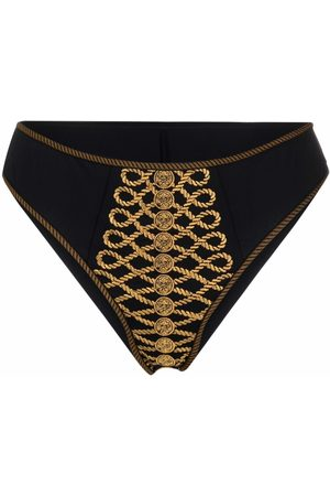 Marlies Dekkers Embroidered high-rise bottoms