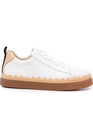 Chloé Lauren low-top lace-up sneakers