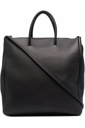 MARSÈLL Logo-debossed tote bag