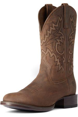 Ariat Men's Stockman Ultra Western Boots in Talon Tan