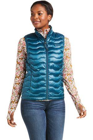 Ariat Women's Ideal 3.0 Down Vest in Iridescent Eurasian Teal