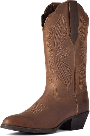 Ariat Women Cowboy Boots - Women's Heritage R Toe StretchFit Western Boots in Distressed