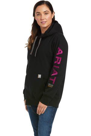 Ariat Women Hoodies - Women's Rebar Graphic Hoodie Long Sleeve in