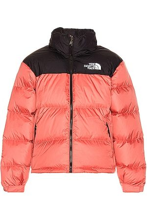 The North Face 1996 Retro Nuptse Jacket in Faded Rose