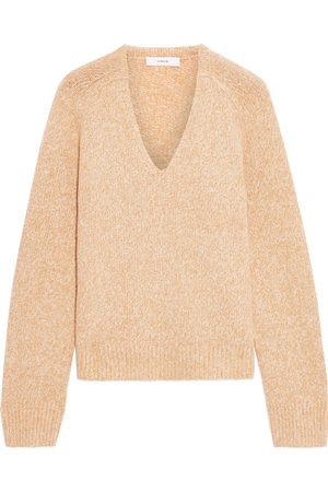 VINCE. Women Jumpers - Woman Mélange Knitted Sweater Size L