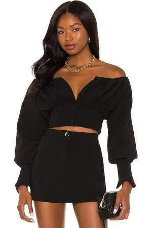 h:ours Sybille Off Shoulder Top in . Size M, S, XL, XS, XXS.