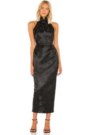 SAU LEE Jill Chinese Jacquard Pencil Dress in . Size 2, 4, 6, 8.
