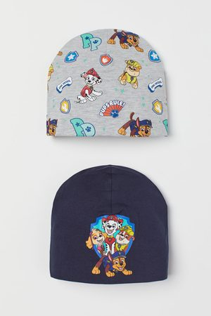 H & M 2-pack jersey hats