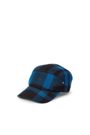 Polo Ralph Lauren Men Caps - Plaid Wool-Blend Twill Five-Panel Cap
